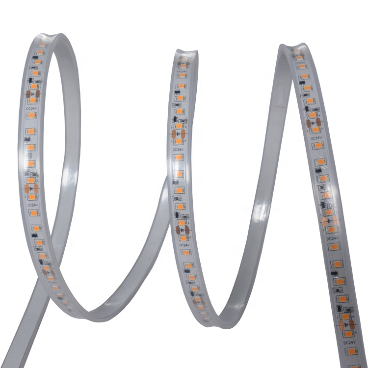 20m 24v 2835 constant current 5500 kelvin white tube flexible cheap ip65 led strip light