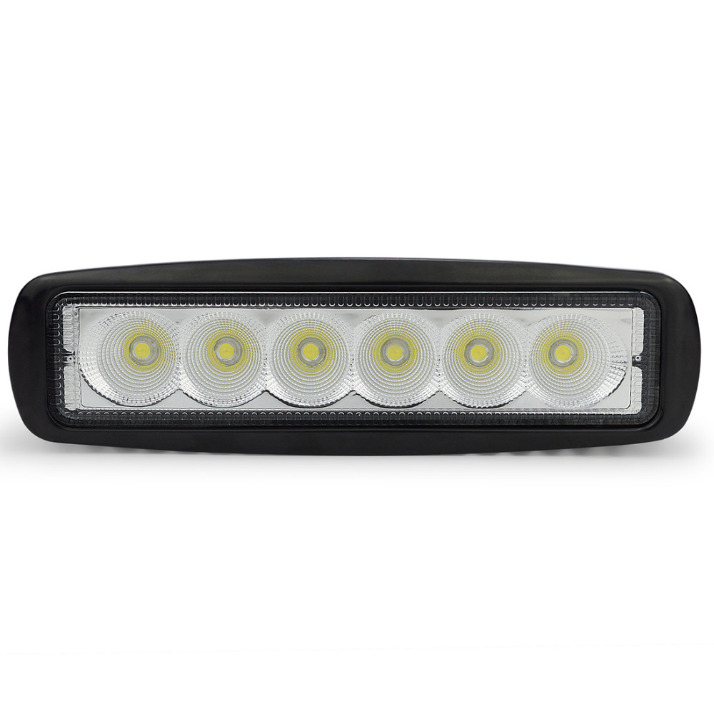 factory promote cheap Mini 6inch 18W led light bar for truck , car ,motorcycle head lamp