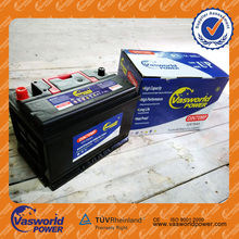 High quality Maintenance free rechargeable Automotive Battery 12V 70ah for Car Starting