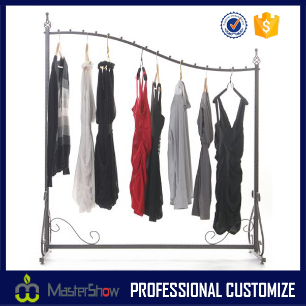 Wholesale clothes display stand and scarf display rack