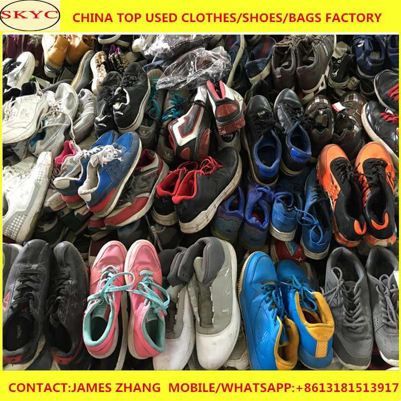 ae09e0d657651 Cheap Used Shoes Bundles Of Second Hand Used Clothing Bulk Wholesale ...