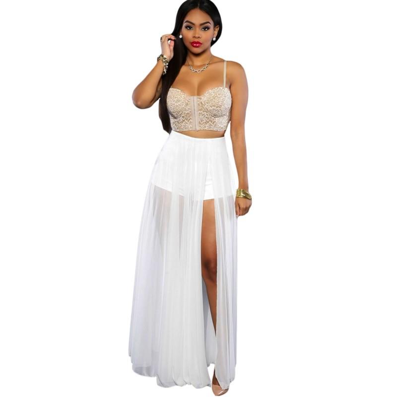 Buy White Skirt 28