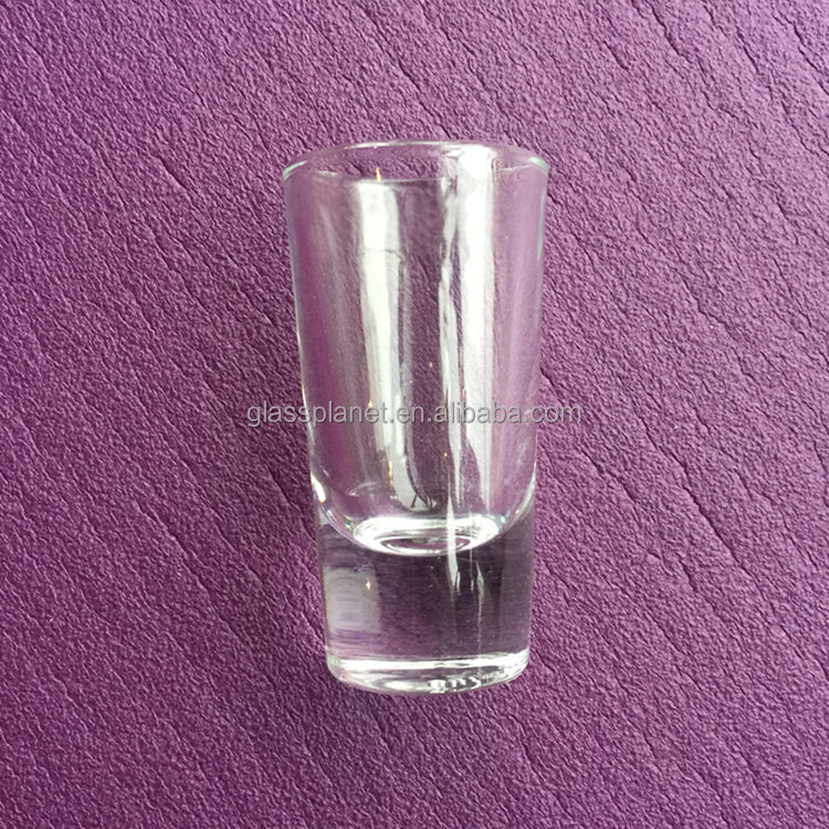 Heavy Base Thick Bottom Tequila Shot Glass 25ml