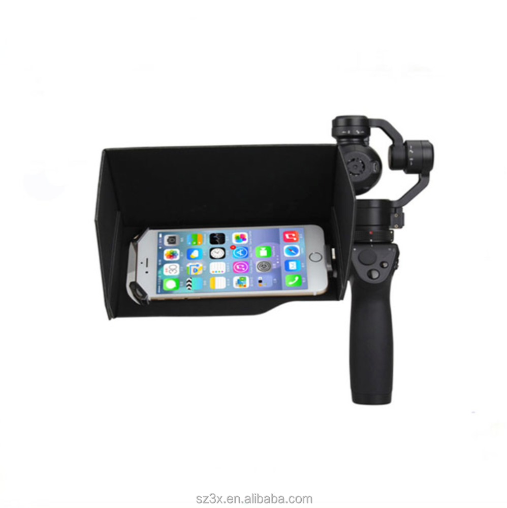 "DJI Sunshade for Osmo+ Handheld Gimbal Camera Sun Hood Shade f/5.5"" inch phone Monitor Sunshade for OSMO Phone Sunshade"