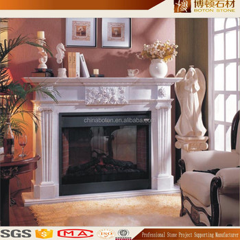 Indoor Marble Fireplace Molds In Fireplaces
