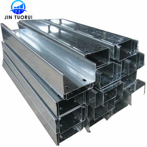 2019 high quality Hot selling galvanized u beam steel U channel structural steel c channel / C profil price