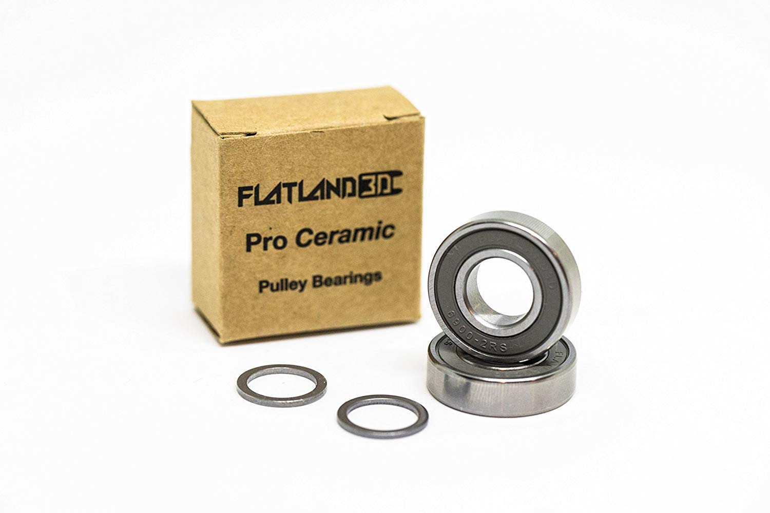 flatland3d Pro Ceramic Pulley Bearings - 6900 for Evolve GT and GTX