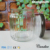 530ml Ribbed Sealed Glass Jars Round Clear Storage Jar Food Grade