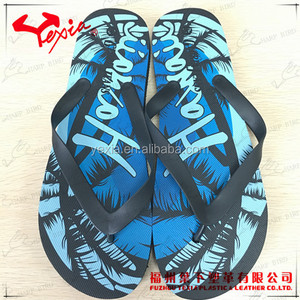 2017 Latest flip flop material slippers