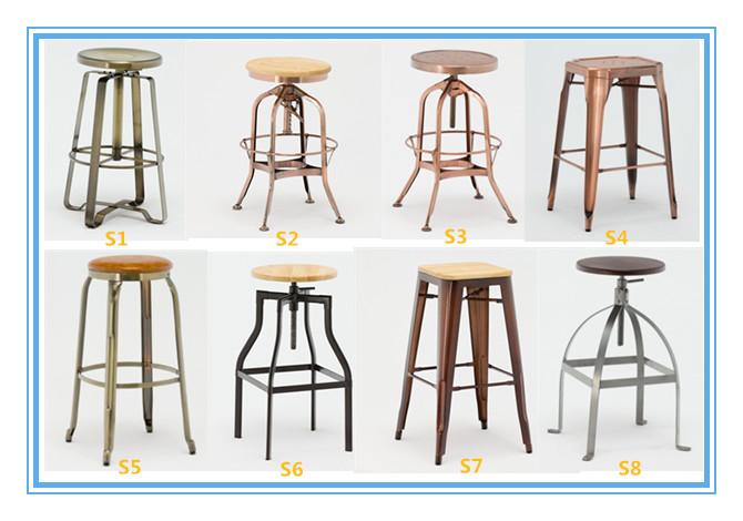 Miraculous Ga402C Vintage Light Copper Adjustable High Back Toledo Short Links Chair Design For Home Short Linksinfo