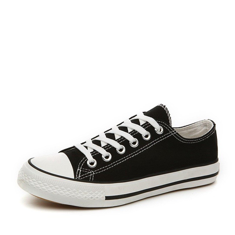 66195a83c681d5 Get Quotations · Travfis Loafers Shoes Low Canvas Shoes Vulcanized Shoes  Couples Students Shoes Korean Classic Neutral Shoes
