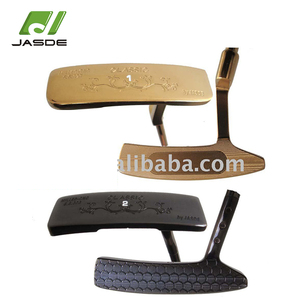 OEM luxurious 431 stainless steel blank CNC milled gold golf putter head