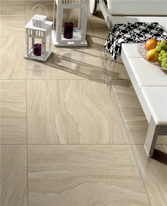 China Alibaba supplier for Non-slip full polished sandstone floor tiles
