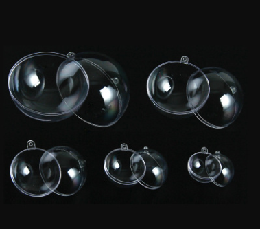 40mm to 200mm  plastic christmas ball for Plastic Products