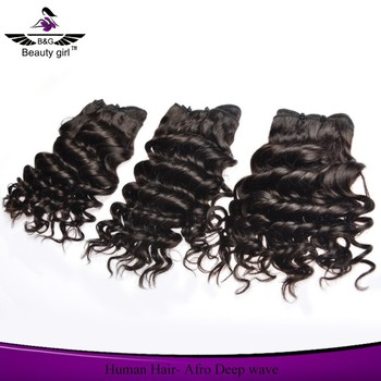 6a virgin hair raw brazilian hair afro deep wave 4 ounce human hair weave