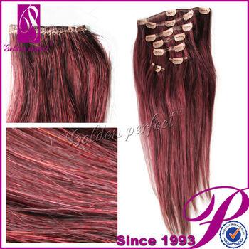 Burgundy Highlights On Dark Brown Hair Buy Burgundy Highlights On
