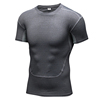Hot Sale Wholesale Tight Sports Short Sleeves Seamless Man Yoga Tops
