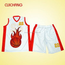 High Quality latest design basketball jerseys& sublimated basketball jersey&basketball shorts, Custom Basketball uniform design,