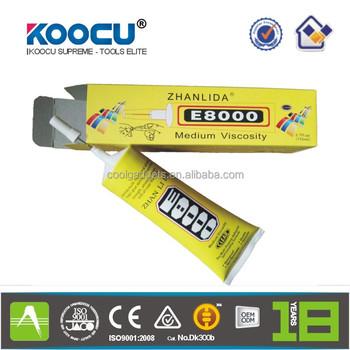 Koocu Amazing E8000 Adhesive Sealant Glue For Clothes Shoes Jewelry  Cell-phone - Buy Koocu Amazing E8000 Adhesive,Fabric Adhesive Glue,T8000  Adhesive