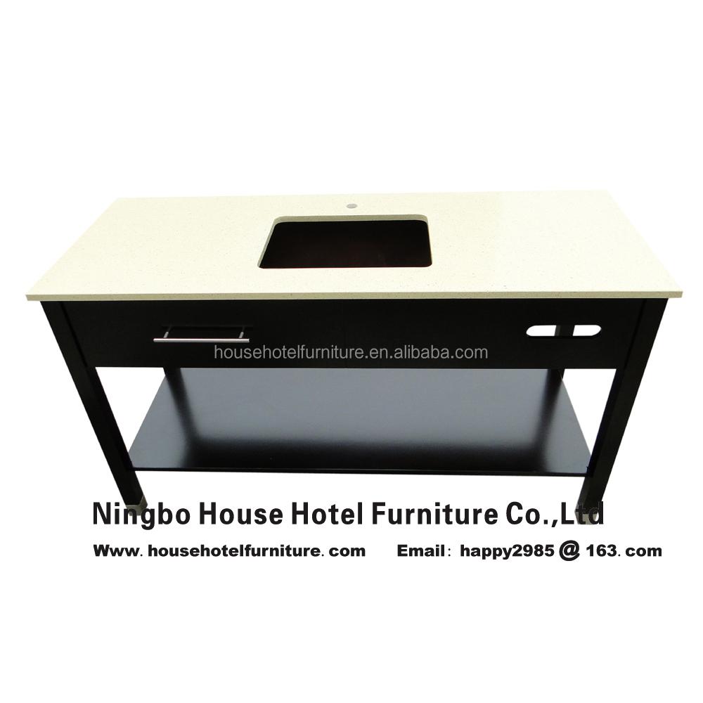 Hotel Furniture Tv Media Console Refrigerator Combo Cabinet Hotel - End table refrigerator combo