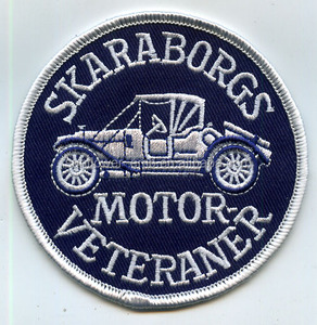 Custom car embroidery patch