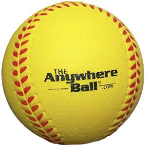 The Anywhere Ball Baseball/Softball Foam Training Ball