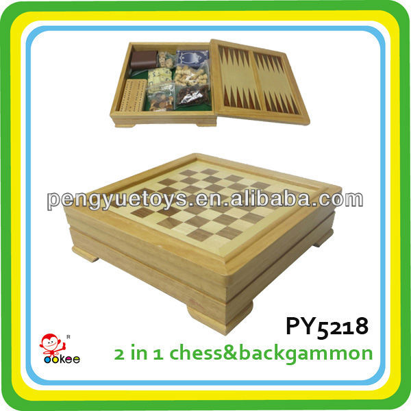 6 in 1 wood multiple game