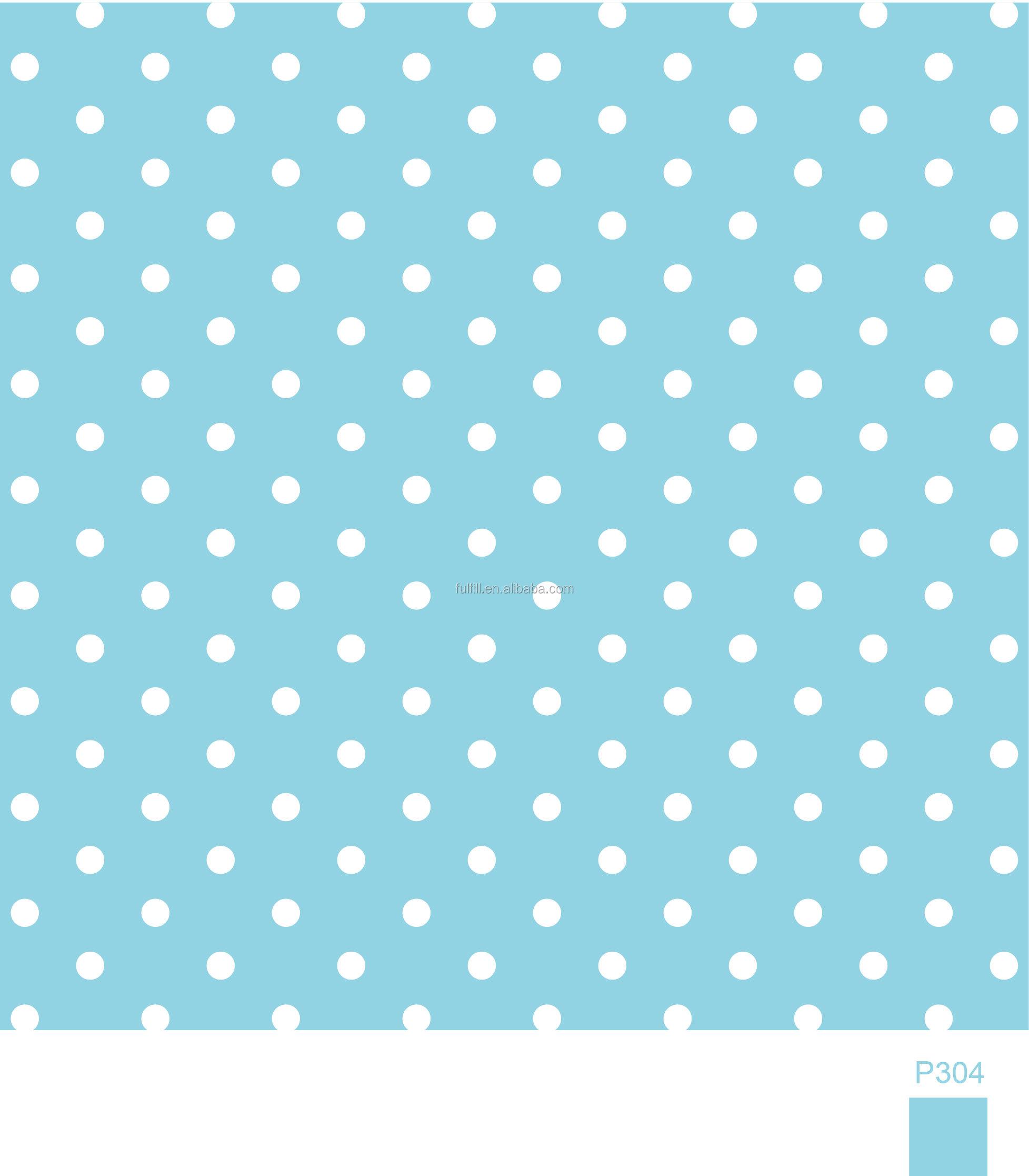 Baby Blue Polka Dot Color Paper Napkin Buy Printed Paper Napkin