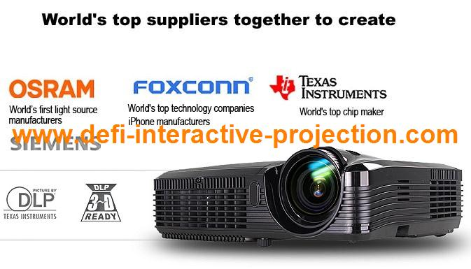 Low pice 4500 lumens short focus projector,high lumens portable projector for school