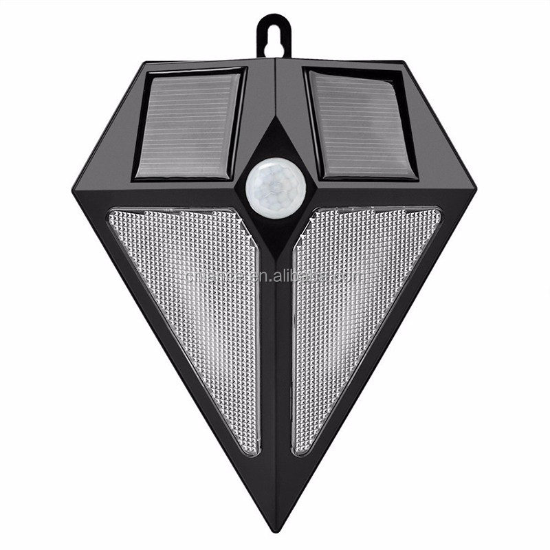 Solar Power Outdoor LED Lights PIR Motion Sensor 6 LED Light Waterproof Wireless Security Garden Solar Wall Lamp Auto On/Off