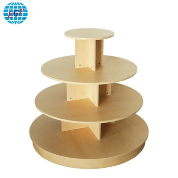 Marvelous Commercial Wood Top Garments 4 Tiered Retail Display Round Table Buy Round Display Table Display 3 Tier Round Table Wooden Display Table Product On Gmtry Best Dining Table And Chair Ideas Images Gmtryco