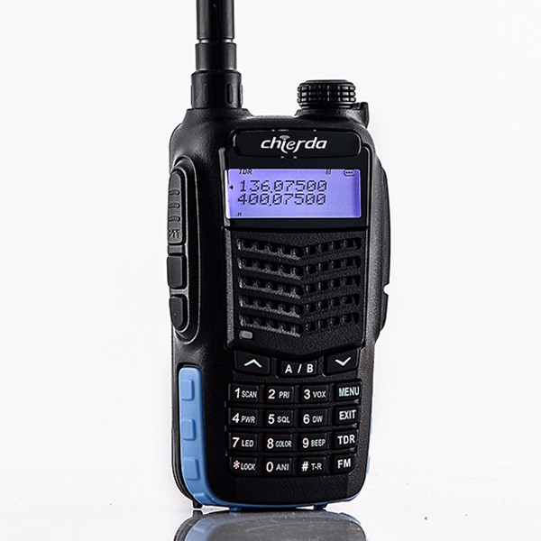 Walkie Talkie TC-898G 10W GPS VHF UHF Long Range Two Way Radio Ham Radio Antenna