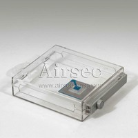 transparent anti theft and anti-theft box for eas security system