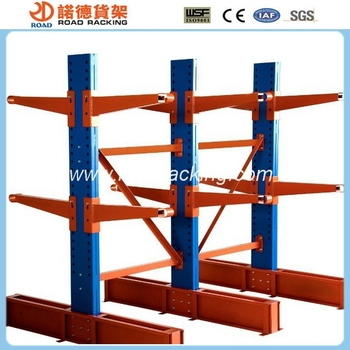ISO Certification Steel Plate Storage Cantilever Rack