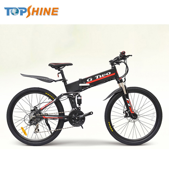 Novel Inertial Cruise Pedal Assist Throttle Mountain Electric Bike with 2 in 1 GPS Motor Controller