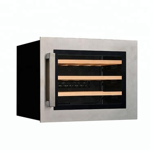 Hotel Western Restaurant Red Wine Cabinet Thermostatic Stainless Steel Vinicole