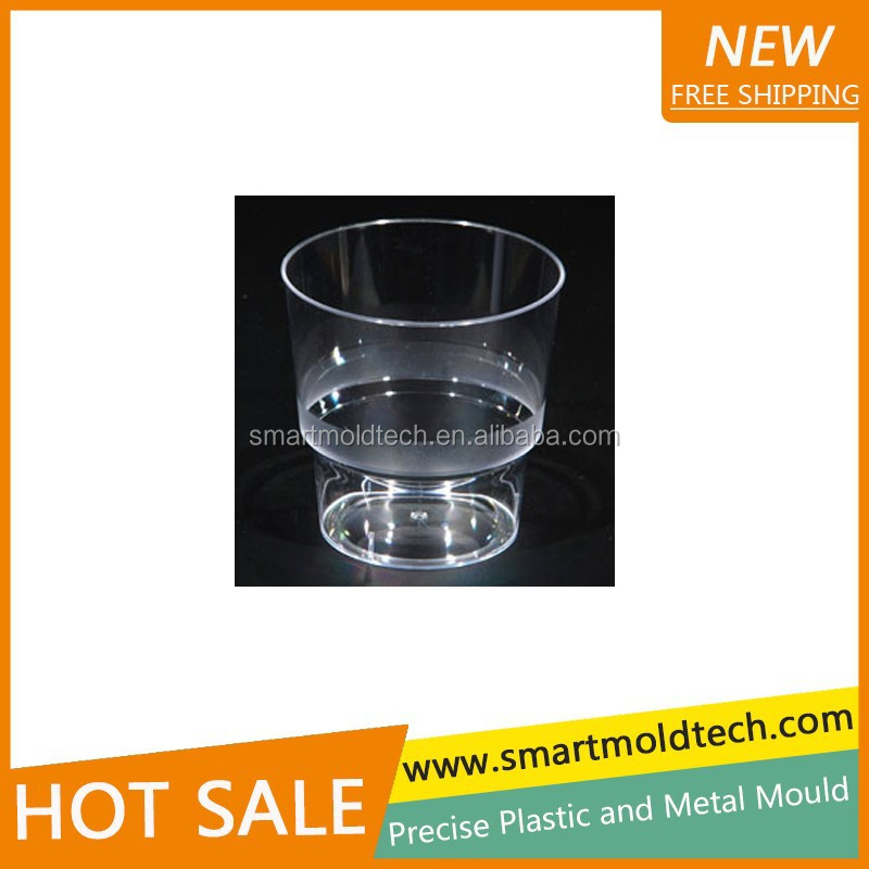 Plastic Cup/Glass Injection Mould/ Plastic PMMA Arcylic Cups