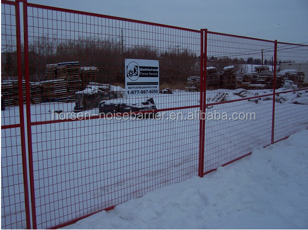Removable Fence wholesale used in construction removable fence/iso9001 temporary