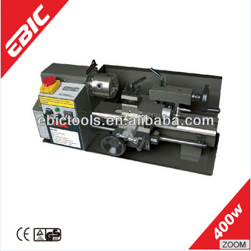 EBIC benchtop cnc metal lathe machine 400W used metal lathe for sale