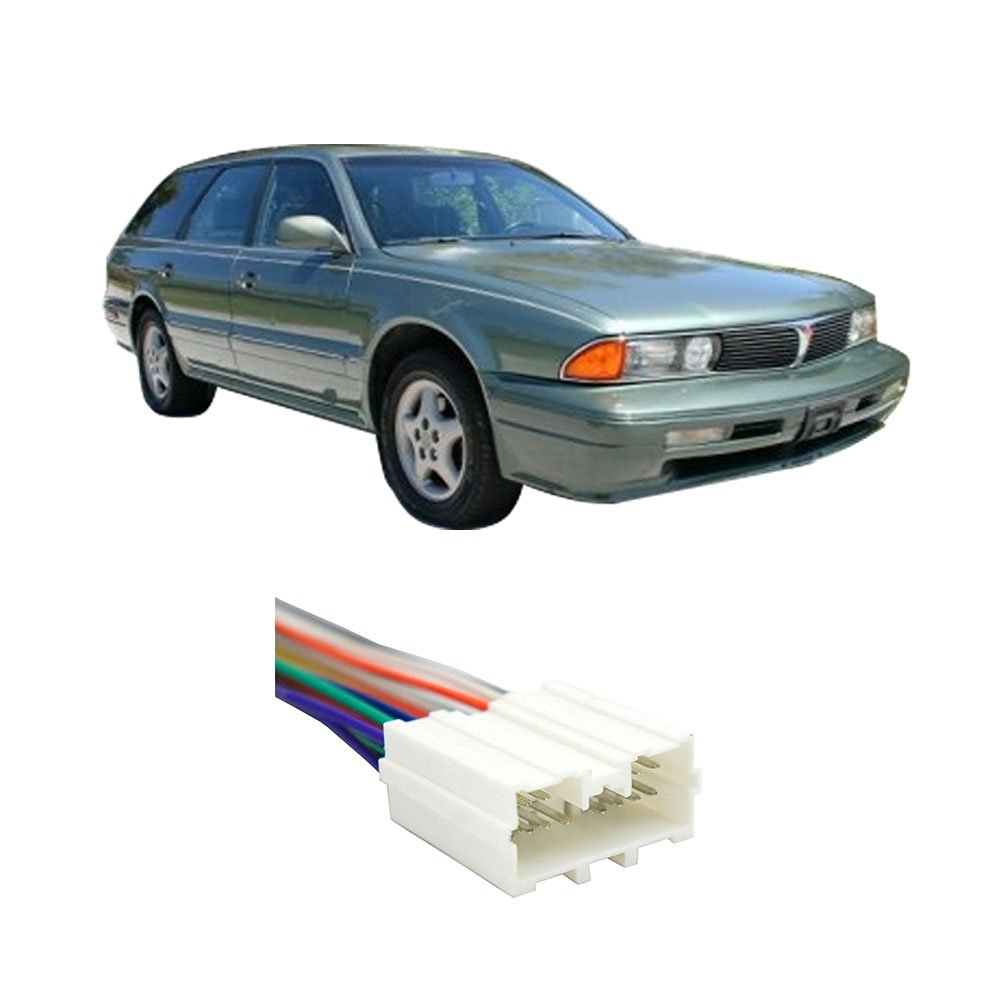 Mitsubishi Diamante Wagon 1993-1995 Factory to Aftermarket Radio Harness Adapter