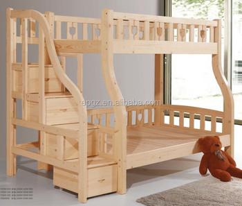 Solid wood children bedroom furniture kids bunk bed buy children bedroom furniture kids bunk Unfinished childrens bedroom furniture