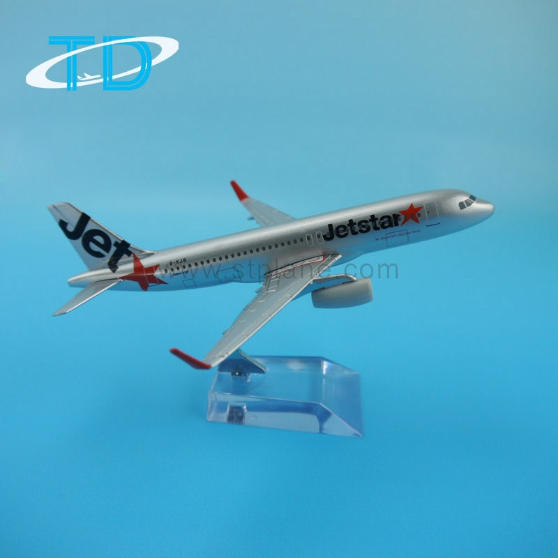 Airbus A320 Jetstar 1/250 16cm toy airplane