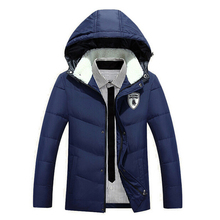 2015 new arrival Winter Men Jackets Duck Down Jacket Men's Casual Fashion Thick Jackets For Men outdoor Down Coat Large size 3XL