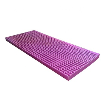 Purple Honeycomb grid mattress silicone gel  latex mattress memory gel foam mattress for hospital