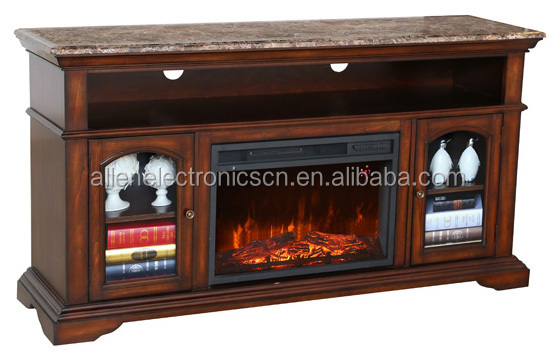 2015 hot sale decorative 2 sided electric fireplace with