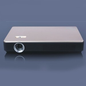 Salange S6 mInI Home Cinema/Business/Meeting Portable DLP Projector with 1280*800p 13600mAh 780lms Support Wireless Project