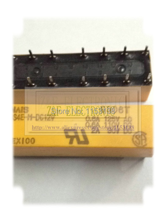10 pcs in a lot DS2E-S-DC12V NAIS Relay  PCB type.DS2E-S-DC12 New