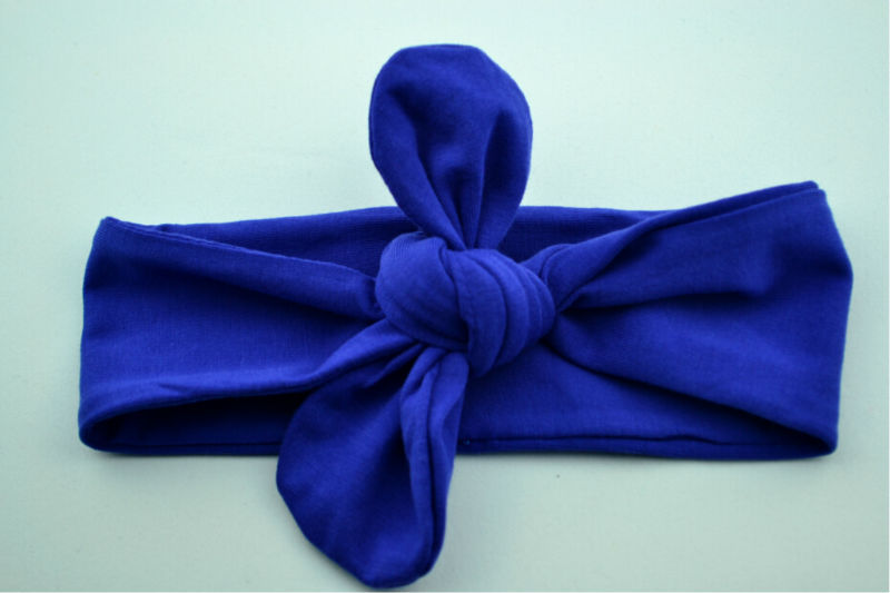 2015 New Arrival Fashion Baby Girls Knot Headwrap Baby dark blue Baby Knot <strong>Headbands</strong>