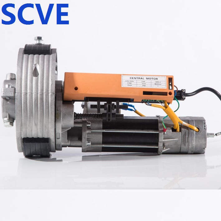 Central motor for rolling shutter door SCVE motor