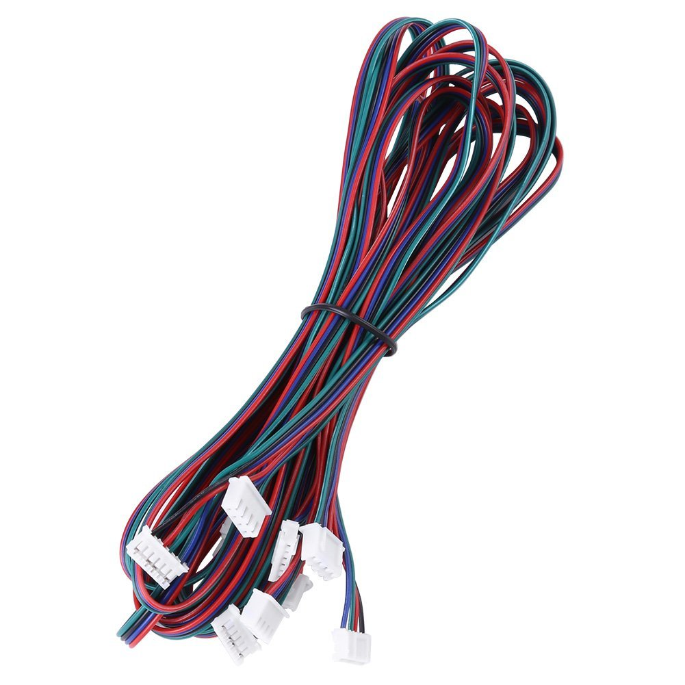 Black USB 3.0 Cable 5 Pack 6 Feet Type A Male to B Male GOWOS